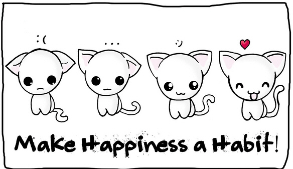 make happiness