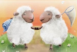 lasketaan lampaita