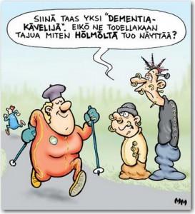 dementikävelijä
