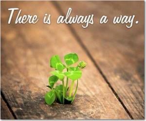 a way