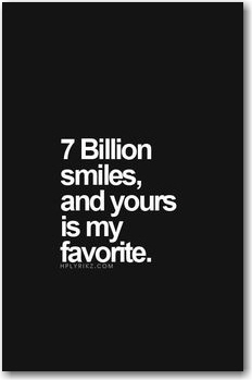 7 billion smiles