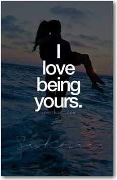 being yours